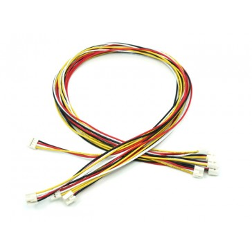 Grove - Universal 4 Pin Buckled 40cm Cable (5 unidades Pack)