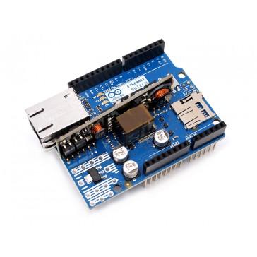 Shield de Arduino Ethernet Rev3 con Módulo PoE