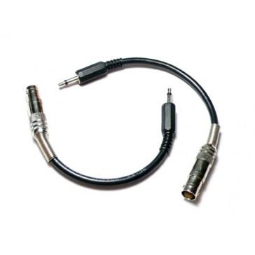 Cable convertidor de TRS 3.5 mm a BNC (Compatible con DSO nano)