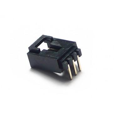 Conector de broche de 3 pines para bloques electrónicos - 10 piezas