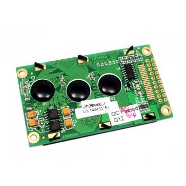 LCD gráfica 128*64 (KS0108) - Azul y Verde Amarillo