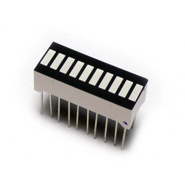 LED indicador de barra de 10 segmentos