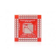 Breakout para montaje superficial xQFP - 0.5 mm