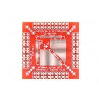 Breakout para montaje superficial xQFP- 0.8 mm