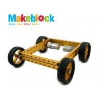 Kit de Robot Makeblock 4WD - Dorado (DESCONTINUADO)