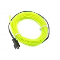 Cable Electroluminiscente - 3m Verde