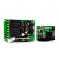 Kit de relés de conmutación a distancia 315MHz - 2 canales