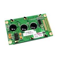 LCD gráfica 128*64 (KS0108) - Azul y Verde-Amarillo