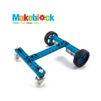 Kit de robot configurable 2WD Makeblock-Azul (DESCONTINUADO)