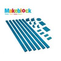 Kit de extensión para estructuras largas Makeblock - Azul (DESCONTINUADO)