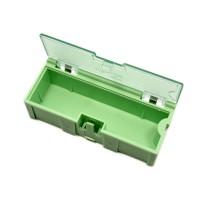 Caja de almacenamiento de componentes de tamaño mediano - 5 unidades por lote - Verde
