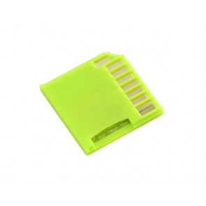 Micro SD Card adaptador para Raspberry & Macbooks - Verde
