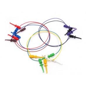 Cable para Puentear con sondas en el extremo - 8 piezas de colores