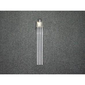 LED RGB de 5mm de triple salida - Cátodo común (20 piezas)