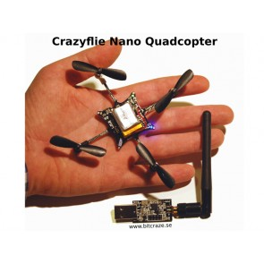 Kit para Crazyflie Nano Quadcopter - 10-DOF con Crazyradio (BC-CFK-02-B)