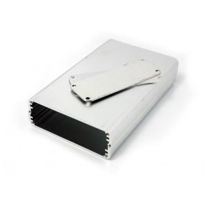 Contenedor de aluminio para proyectos pequeños - 113 * 70 * 25 (mm)