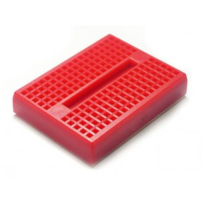 Mini tarjeta de Prototipos (Protobard) 4.5x3.5cm – Roja