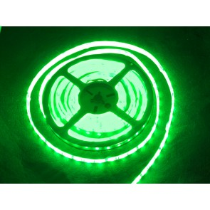 Tira flexible de LED verde - 60 LED - 1m