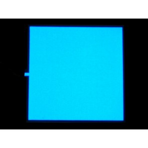 EL Panel - 10cm x 10cm Verde