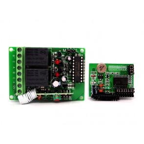 kits de relés de conmutación a distancia 315MHz - 2 canales